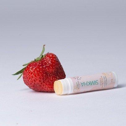 baume à levre menthe fraise simkha