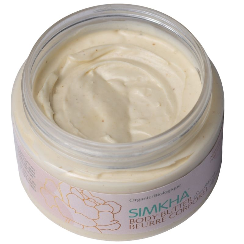 Soothing body butter opened
