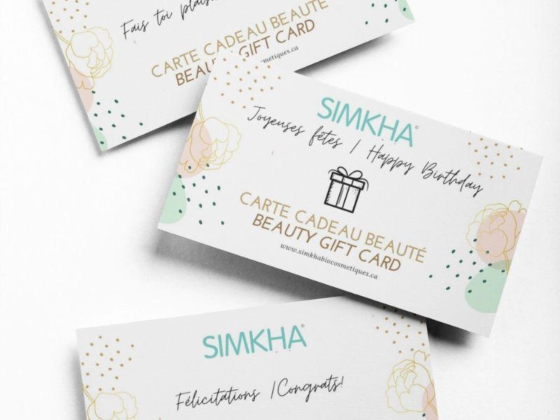 Virtual gift card