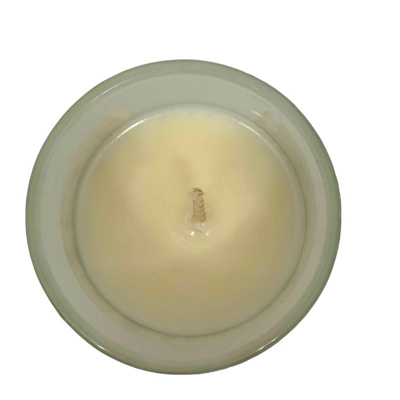 bougie à la cire de soja