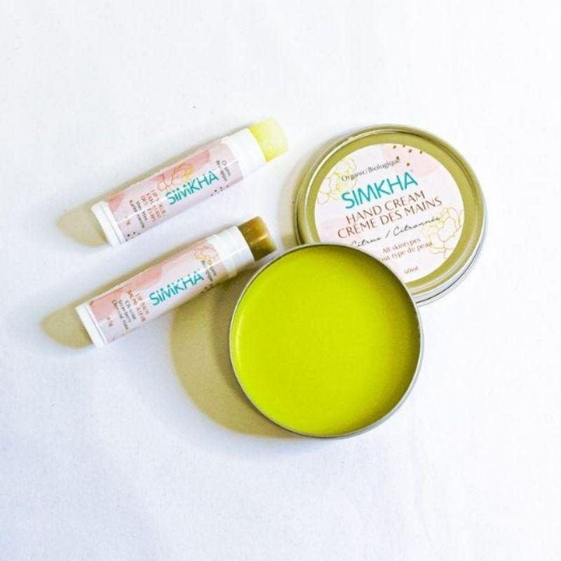 Trio douceur mains sèches lèvres gercées
